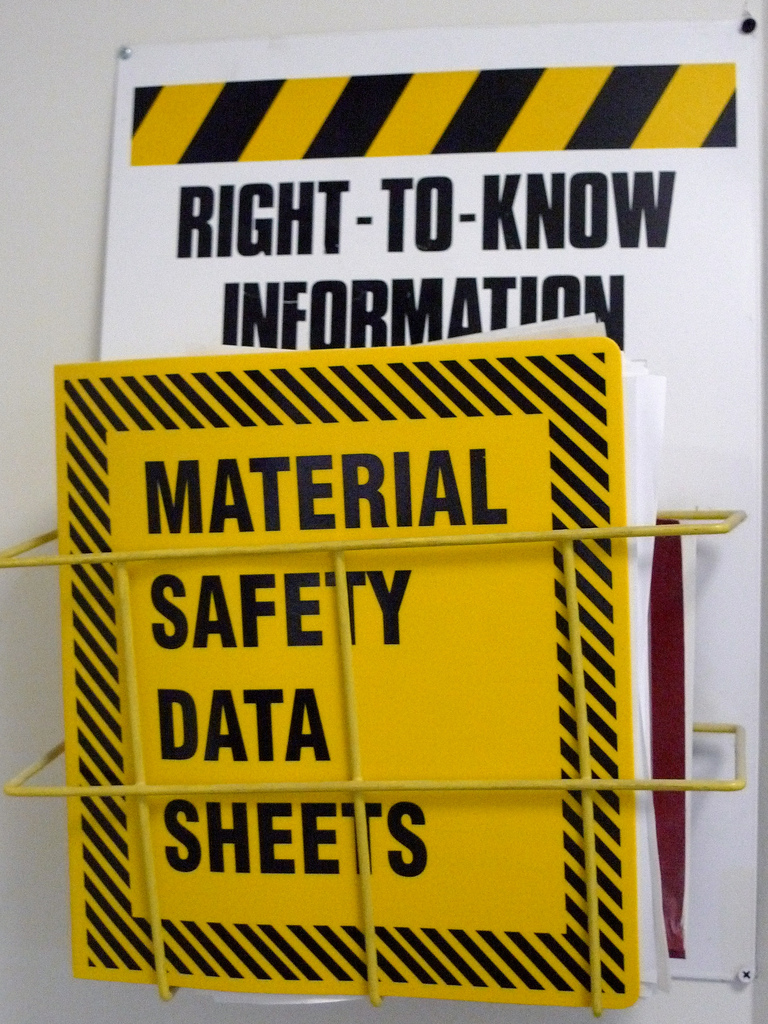 MSDS And SDS Sheets: What Are They?