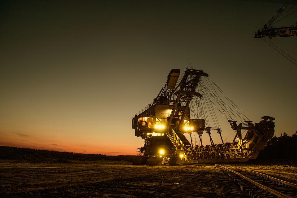 mining excavator machine